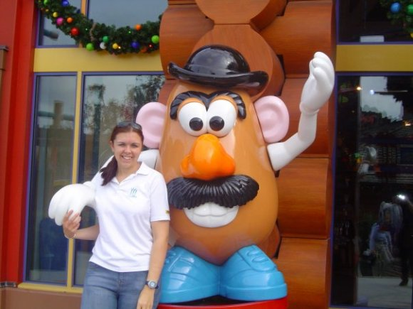 Walt disney world 2004