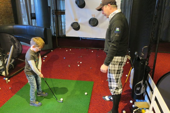 get kids into golf