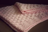 Baby Blanket | Pink Checkers | a little old fashioned