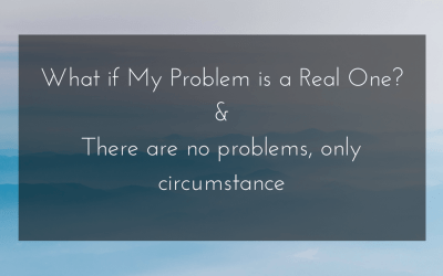 What if My Problems are Real?