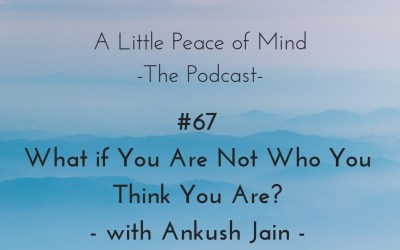 Episode 67: What if You Are Not Who You Think You Are? With Ankush Jain