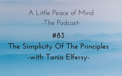 Episode 83: The Simplicity Of The Principles With Tania Elfersy