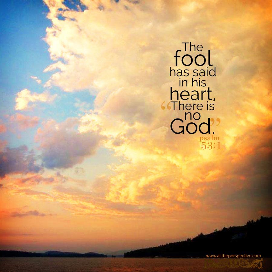 psalm 53 wisdom