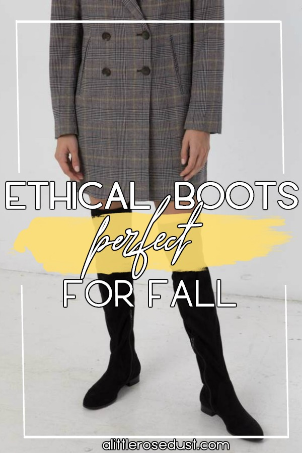 ethical fall boots