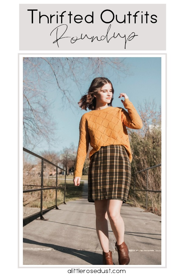 thrifted outfit roundup