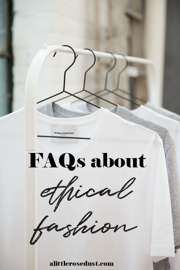 frequently asked questions about ethical fashion