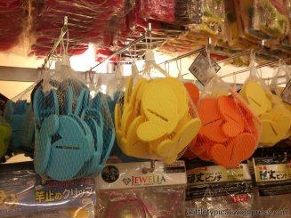 Butterflies clothes pegs.