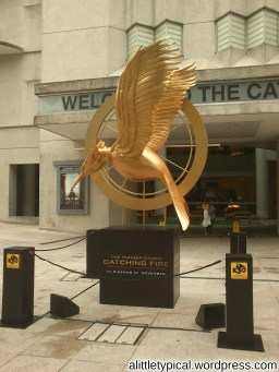 For Hunger Game Movie. At the Cathay.