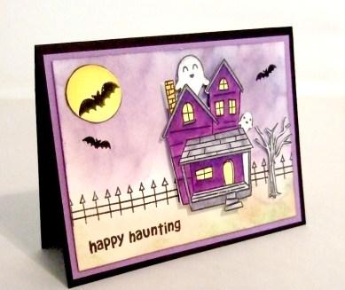 Kawaii Halloween Card
