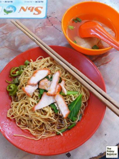 Wanton Noodle at Jonker Street. Photo by The Friday Rejoicer.