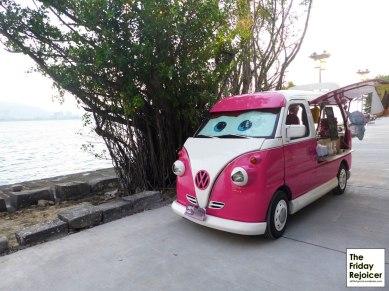 Cute Volkswagen van at Tamsui