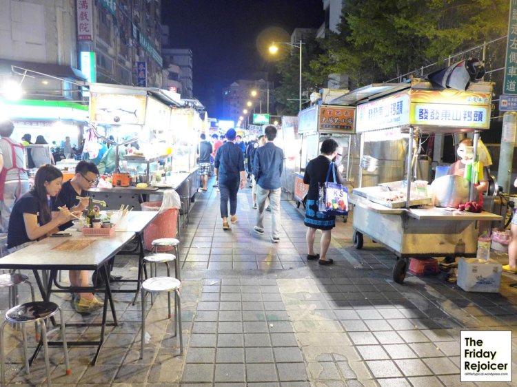 The Friday Rejoicer at Taiwan Ningxia Night Market