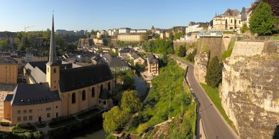 (Above: Luxembourg City, the World's Safest City)