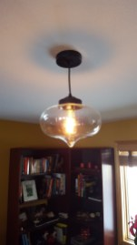New light fixture