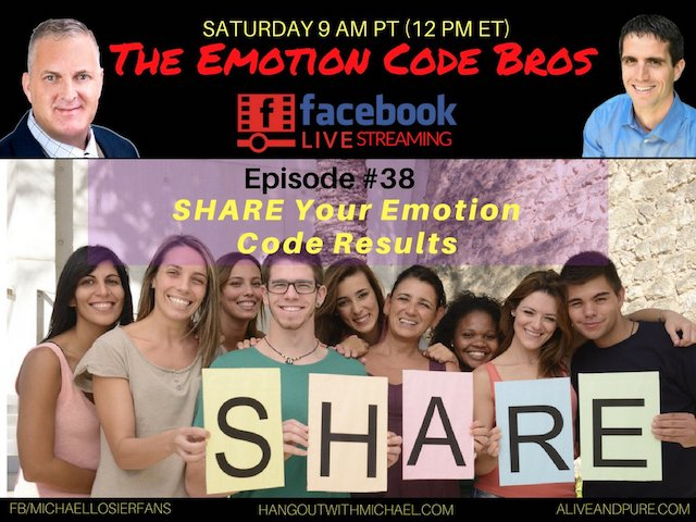 Episode #38 Share Your Emotion Code RESULTS Hollywood Squares Style