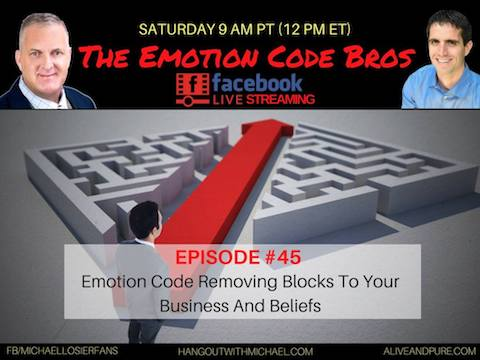 Episode #45 Business Blocks to Your Success Removed With The Emotion Code Michael Losier and John Inverarity