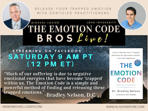 Episode #137 Do You Have Political Anxiety? Can The Emotion Code Help? With Michael Losier and John Inverarity