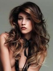 glamorous hairstyles dark