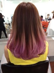 cool ideas lavender ombre