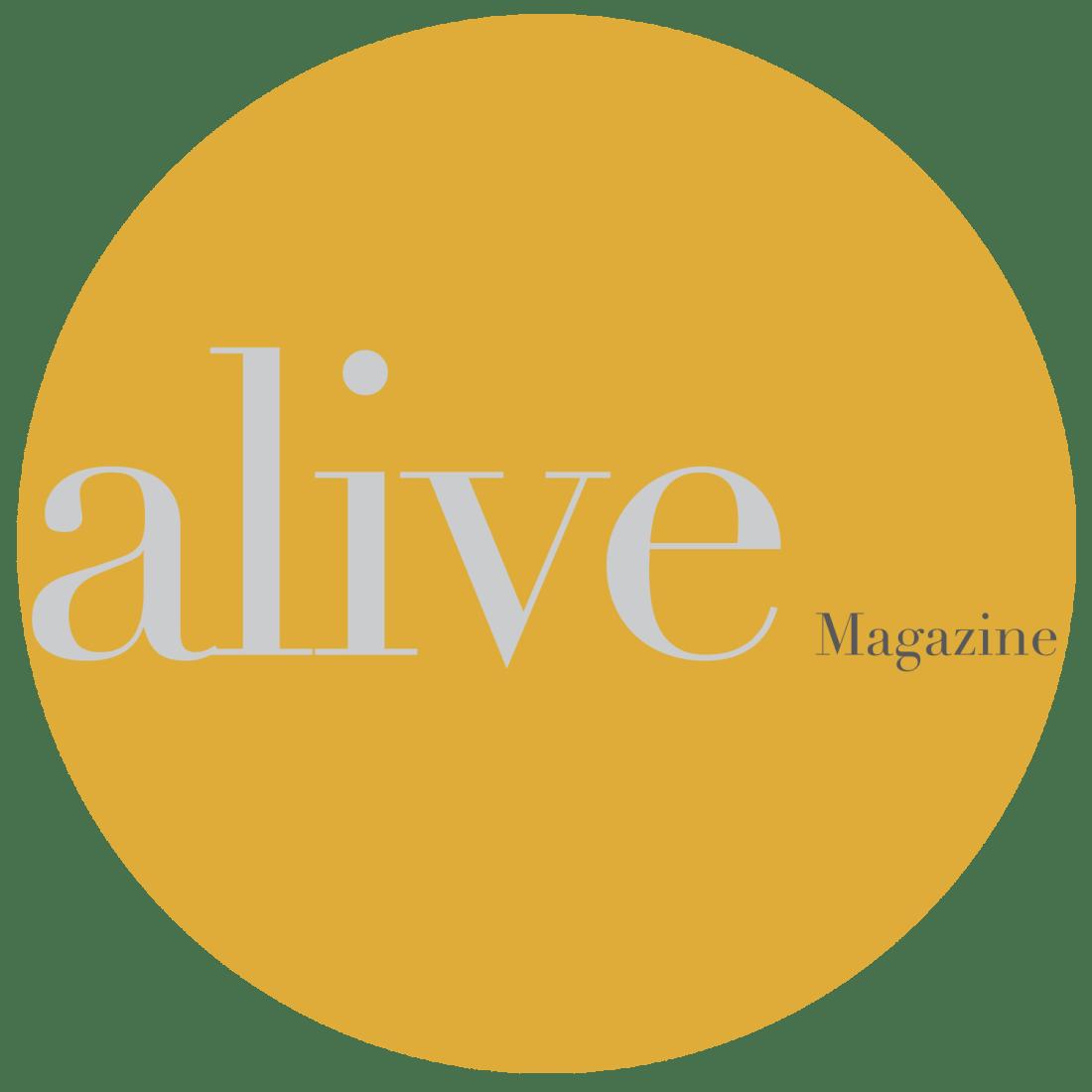 Alive Magazine Badge