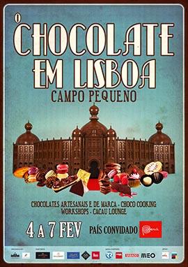 Cartaz O Chocolate em Lisboa 270