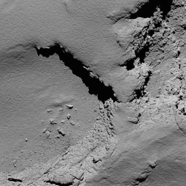 Rosetta: OSIRIS 5.8 km