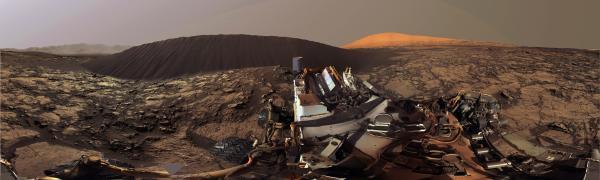 Vento sabbia Marte