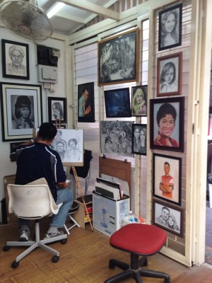 """It has one gangway full of this kind of """"studio""""! <3"""