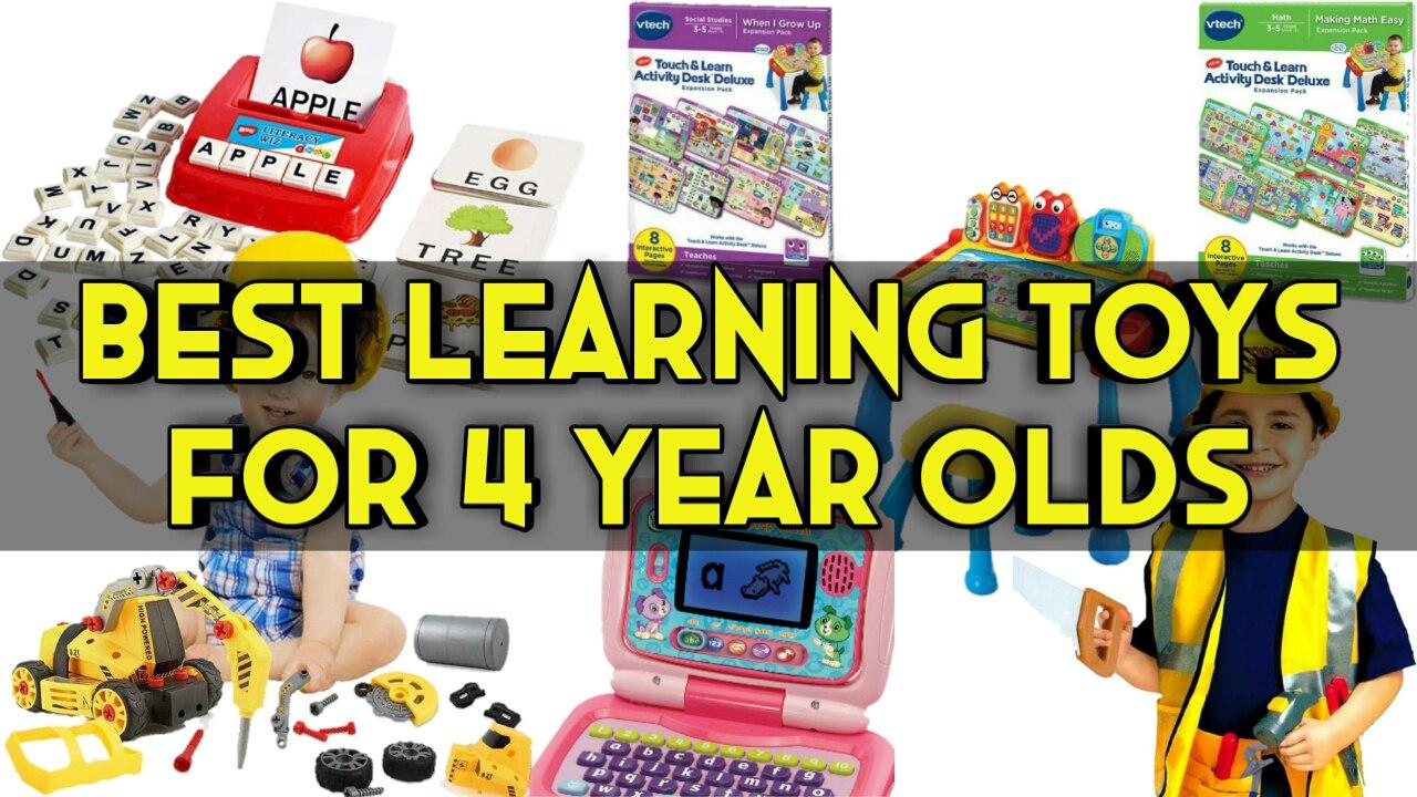 Best Learning toys for 4 year olds 2020 - Montessori Toys