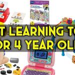 Best Learning toys for 4 year olds