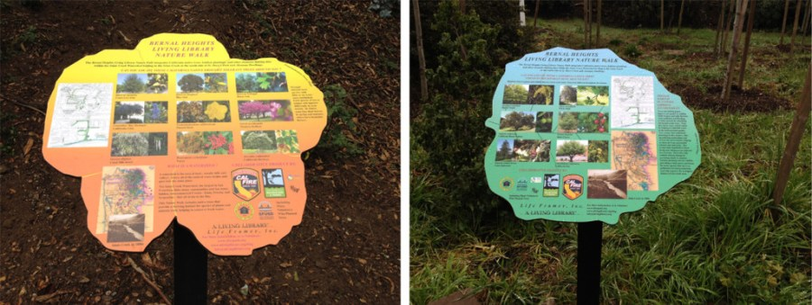New Nature Walk Signs