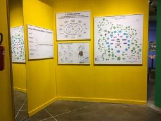 Yellow Wall, Bonnie Ora's installation at PAV