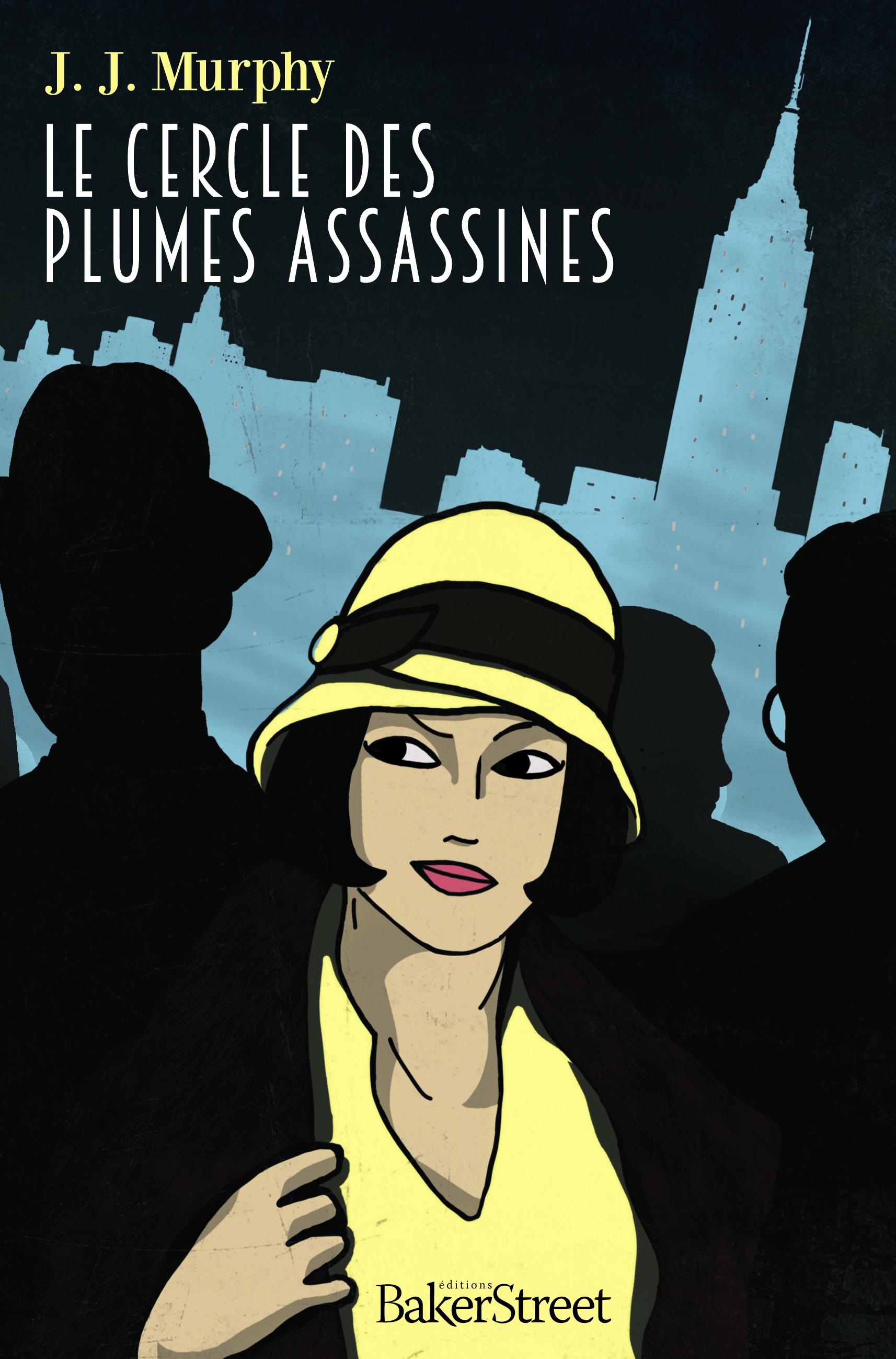 Auteur De Roman Policier Connu : auteur, roman, policier, connu, Cercle, Plumes, Assassines,, Excellent, Roman, Policier, Murphy, Livre, Ouvert