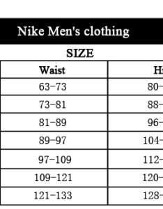 Conversion tailles nike aliexpress homme also guide on finding our size avoid errors rh alixblog