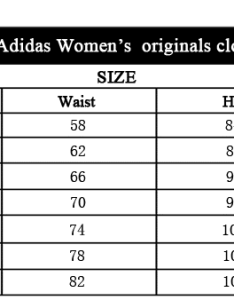 Tailles adidas femme conversion mode also guide on finding our size aliexpress avoid errors rh alixblog