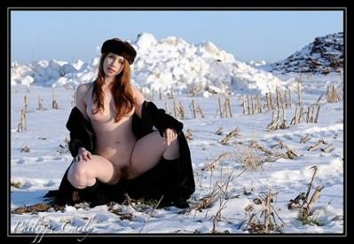 """Alixia Busch - """"Alixia"""" - Fur Coat - Make-up self"""