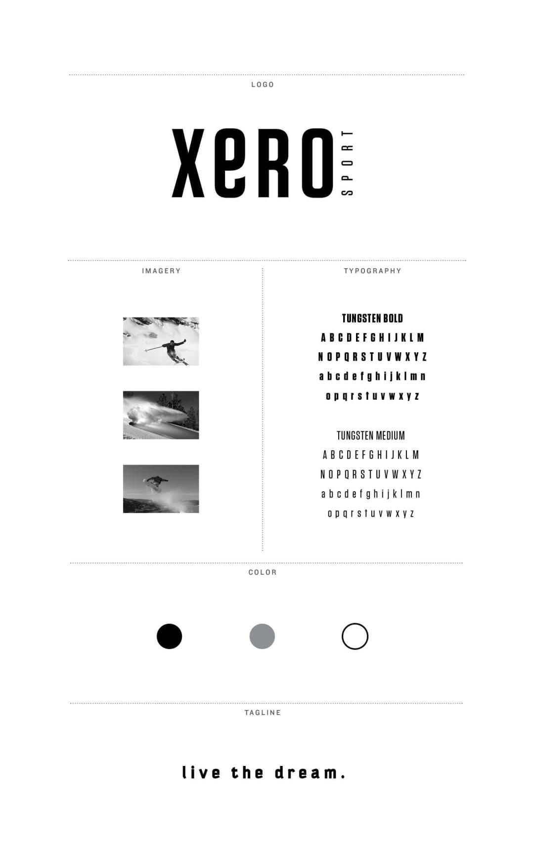 Branding Board XERO