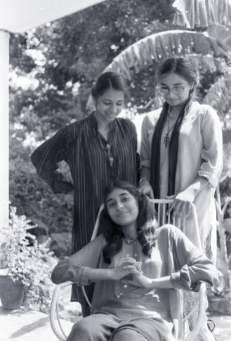 Lubna, Fizza and Fatima 1979