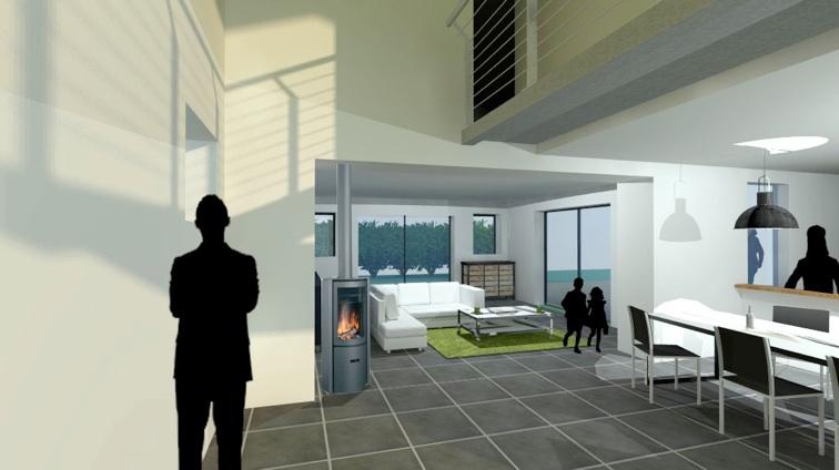 Projet extension maison La Rochelle  Aliz Chauvet Architecte 17