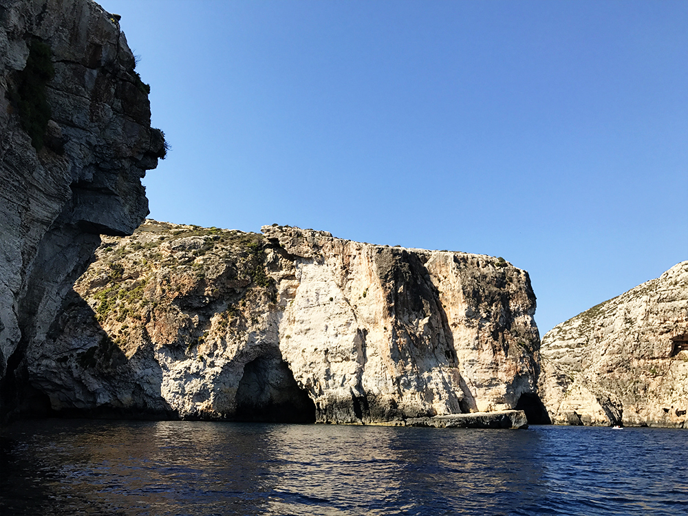 Blue Grotto boat service - Day 1 in Malta - Blue Grotto, Hagar Qim and Mnajdra Temples