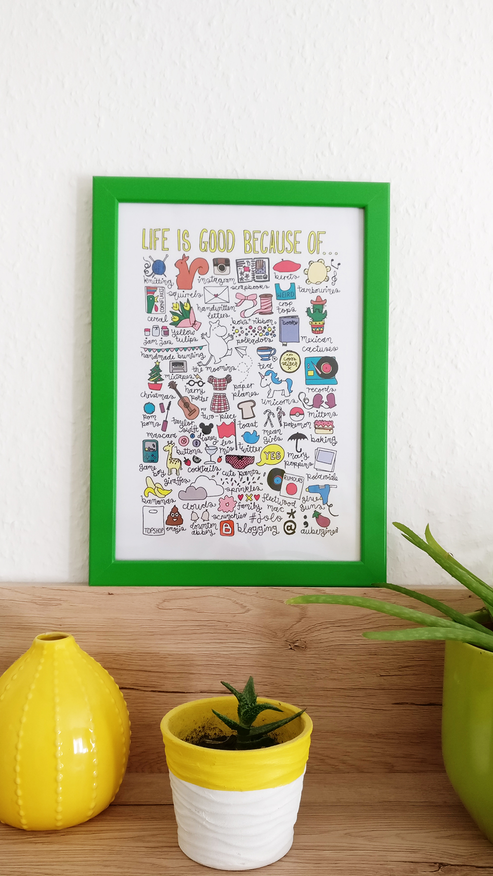 Easy tricks to decorate your walls on budget - Life is good
