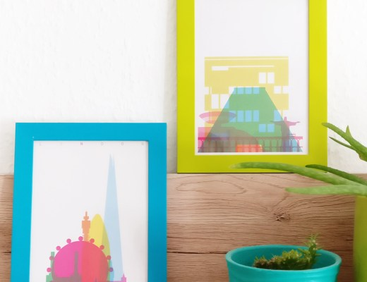 Easy tricks to decorate your walls on budget - Yoni Alter - Shapes of Cities