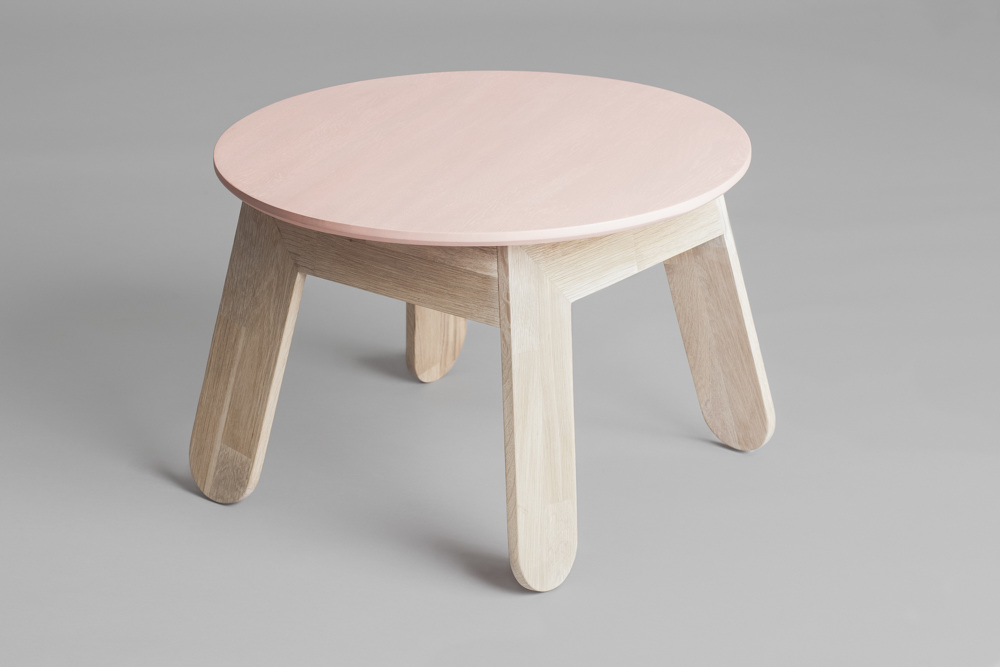 L Table by Sara Polmar | Millennial pink ideas for your perfect home