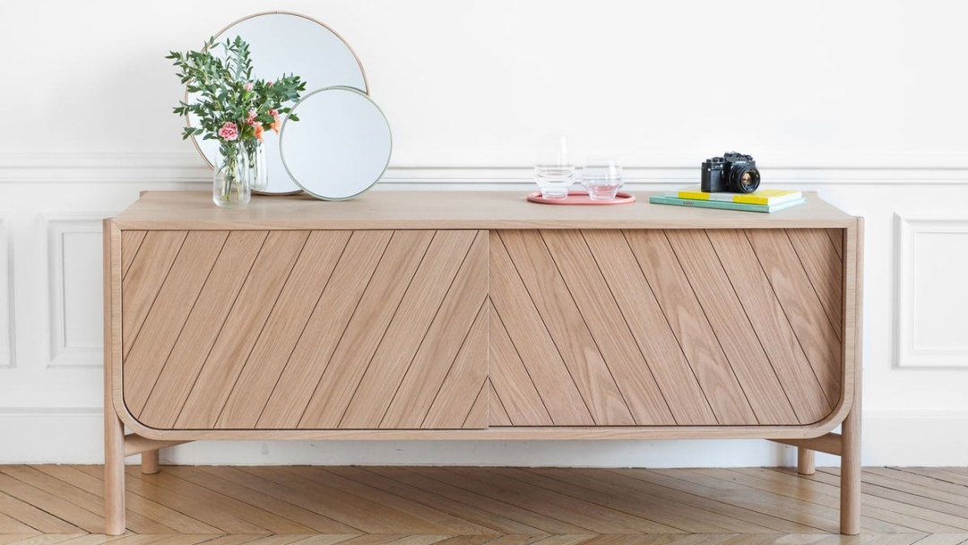 Marius sideboard for natural look - Transform your home into a tropical paradise | Aliz's Wonderland