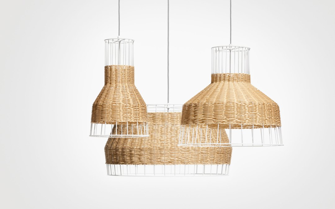 Laika pendant light by Blu Dot for natural look - Transform your home into a tropical paradise | Aliz's Wonderland