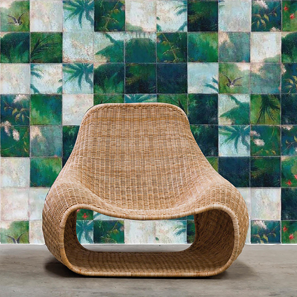 Rattan chair for natural look - Transform your home into a tropical paradise | Aliz's Wonderland