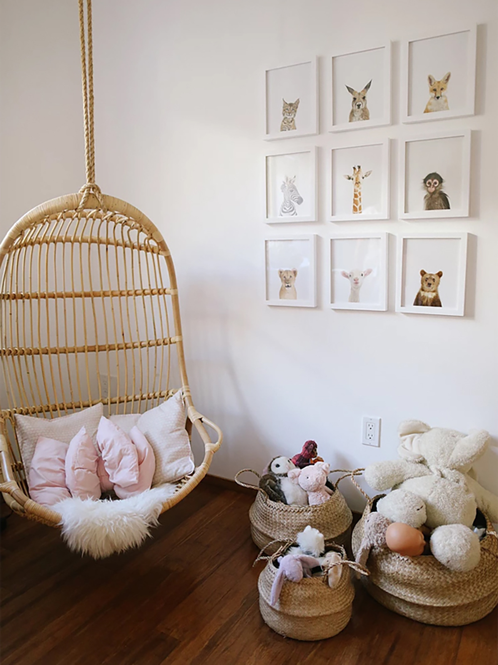 Natural materials in children's room - Transform your home into a tropical paradise | Aliz's Wonderland