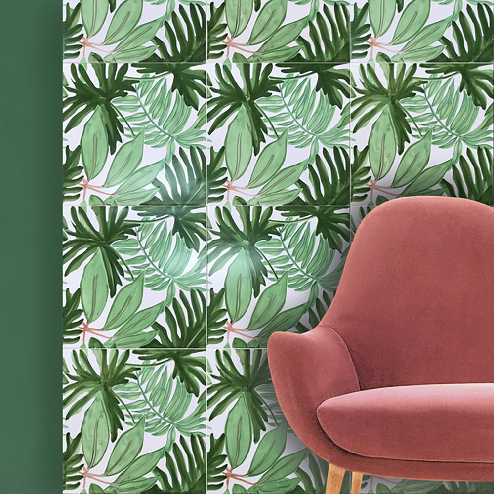 Francesco de Maio's Verde Verticale - Tropical wall tiles - Transform your home into a tropical paradise | Aliz's Wonderland