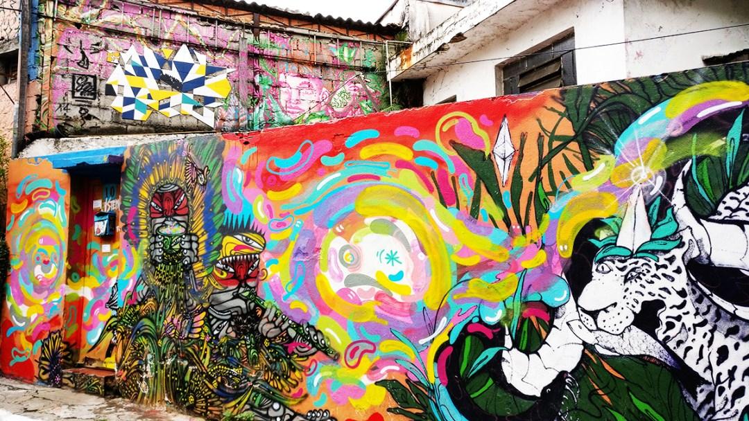 Street art in Beco do Batman, São Paulo - 10 things to do and see in São Paulo | Aliz's Wonderland