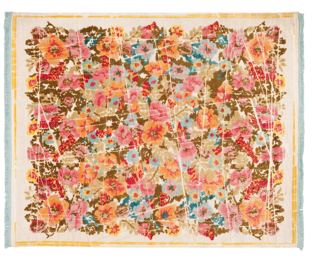 From Russia with love | Scarlenka Allover Wrapped rug by Jan Kath - How to give life to your interior with floral pattern? | Aliz's Wonderland